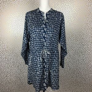 Lou & Grey Drawstring Waist Dress